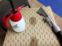 upholstery cleaning lincoln - getting blood out 5