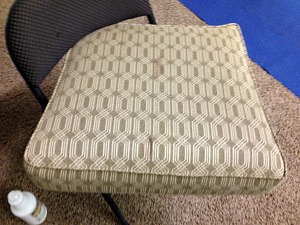 upholstery cleaning lincoln - getting blood out 1