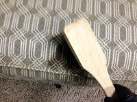 upholstery cleaning lincoln - getting blood out 3
