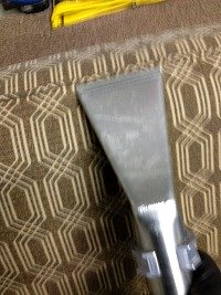 upholstery cleaning lincoln - getting blood out 9